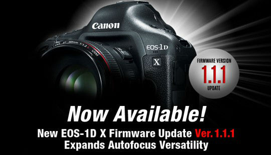 Canon Offers EOS - 1D Firmware Update To Boost Autofocus Capabilities