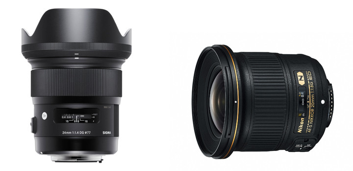 Nikon Outperforms Sigma Art Series with the 20mm f./1.4