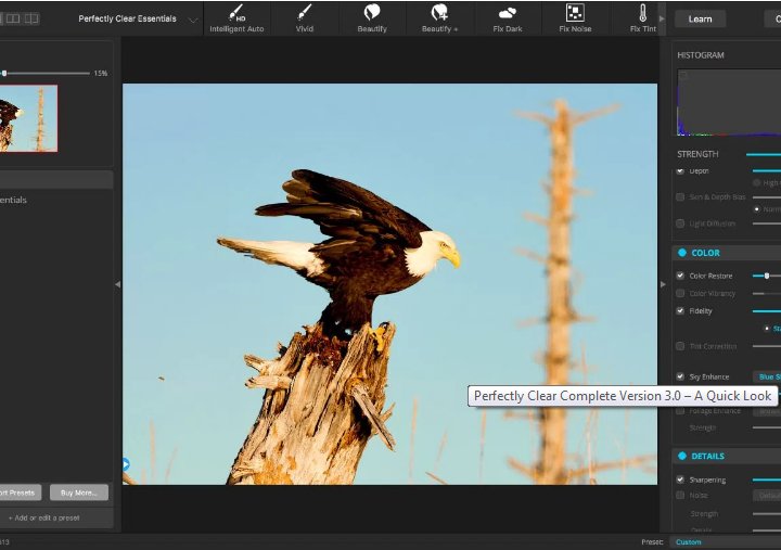 Editing Photos with Perfectly Clear 3.0