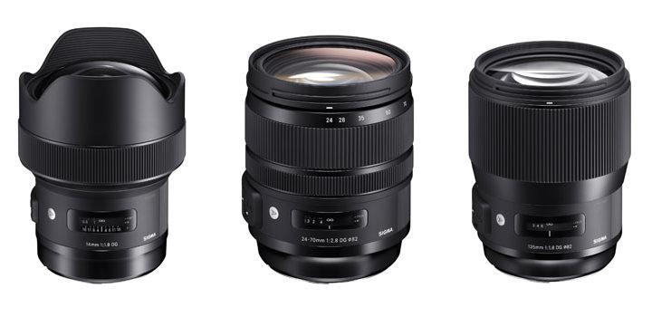 Sigma Releases Three New Art Lenses