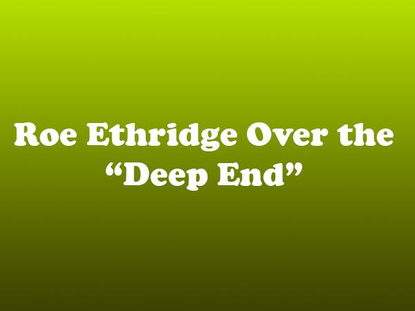 "Roe Ethridge Over the ""Deep End"""